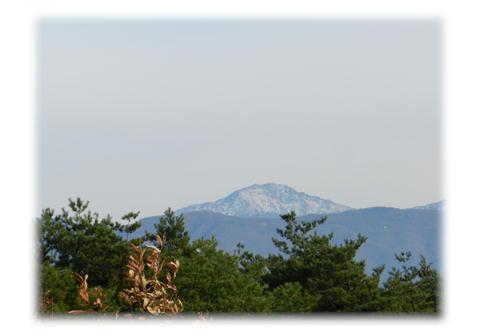 11.27 駒ケ岳SAより 北岳