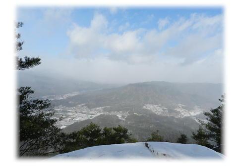 12.25 大峯山は見えず・・・。