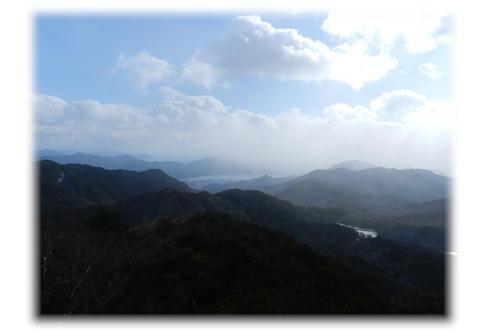 12.25 おむすび岩より 宮島方面