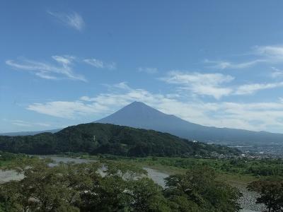 富士川SAからの展望