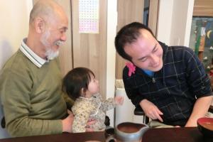 おじいちゃんの誕生会