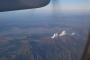 阿蘇山上空通過中