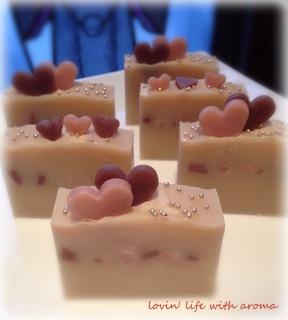 バレンタイン石鹸5