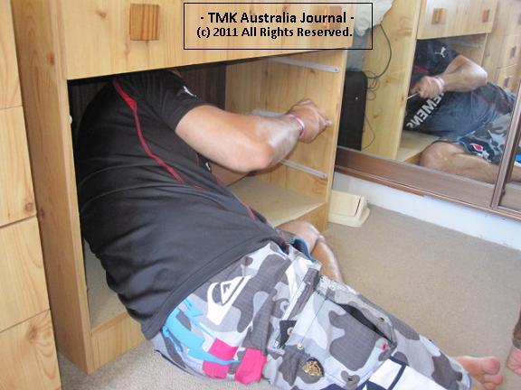 Potao fixing drawer
