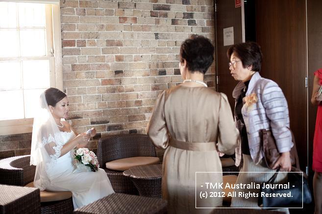 待機中の花嫁