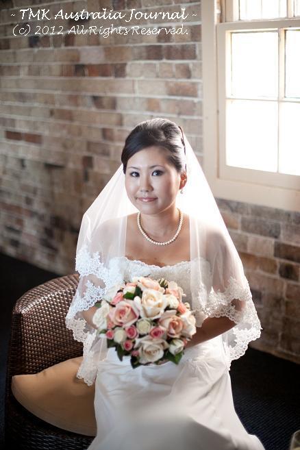 澄まし顔の花嫁