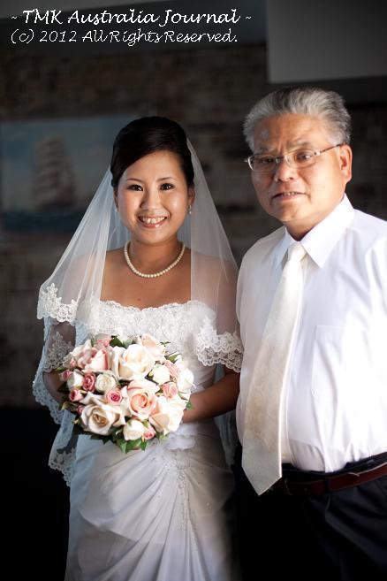 花嫁と父1