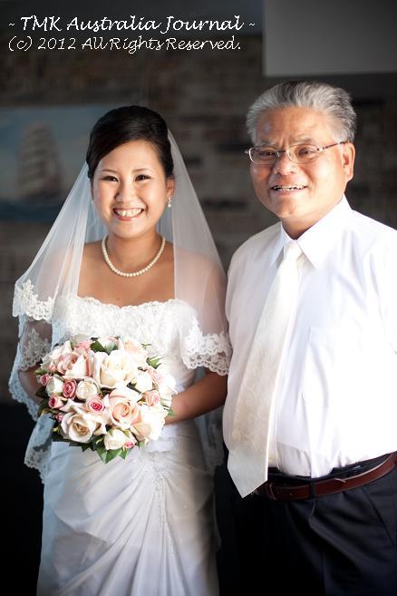 花嫁と父2