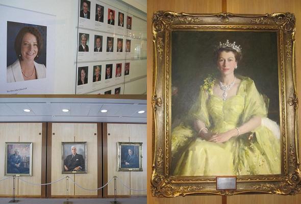 議員や女王の写真
