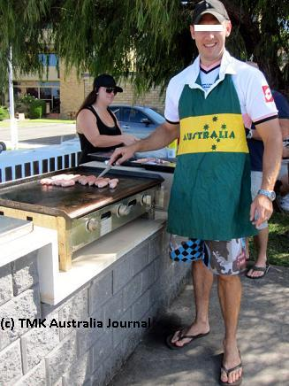 Potao BBQing