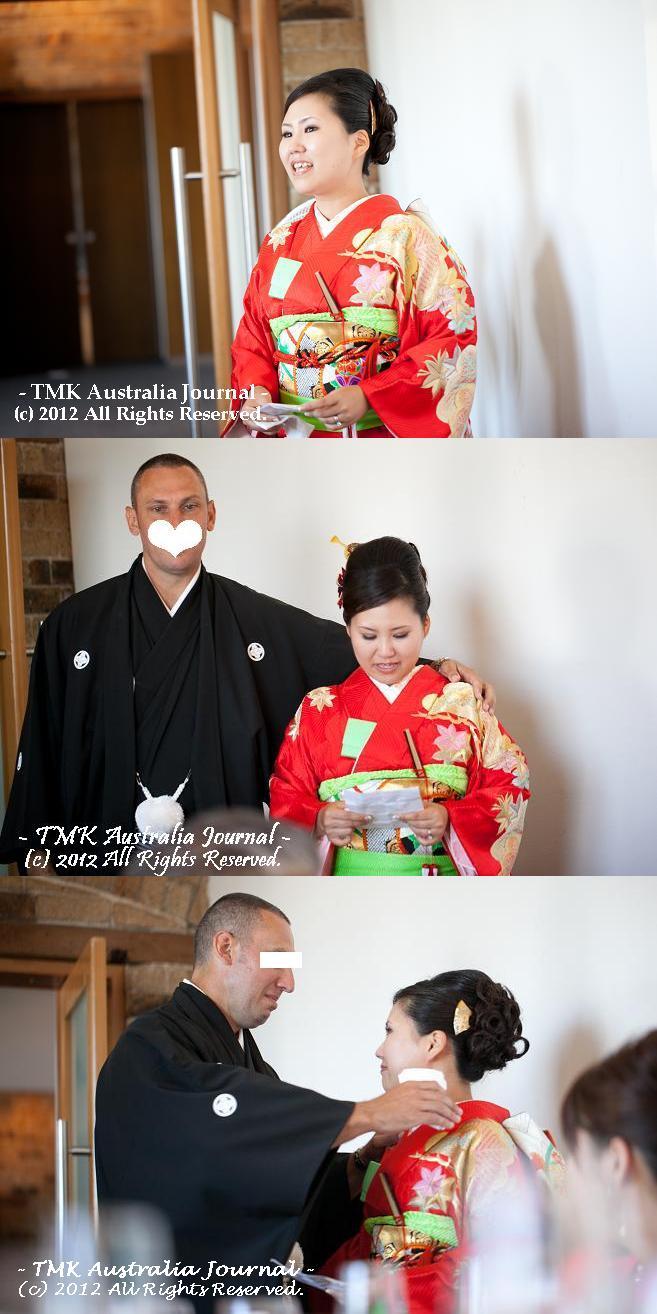 花嫁スピーチ