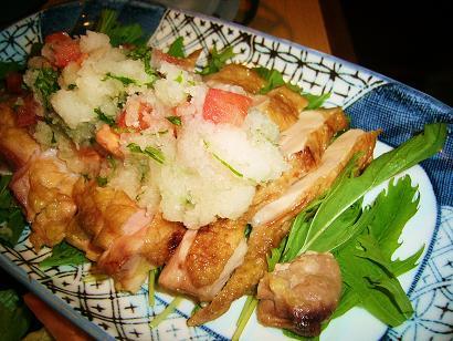 薩摩地鶏焼き