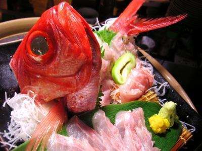 金目鯛お造り1 (14)