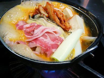 キムチ小鍋 (1)