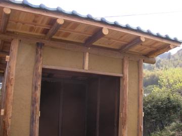小屋作り6