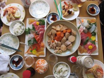 H24私実家昼食