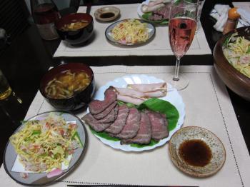 H24.正月主人実家夕食