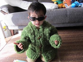 緑ジャケット3