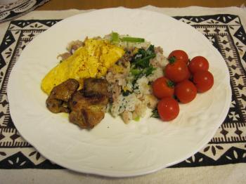 小松菜混ぜご飯2