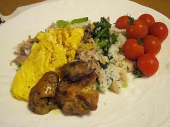 小松菜混ぜご飯1