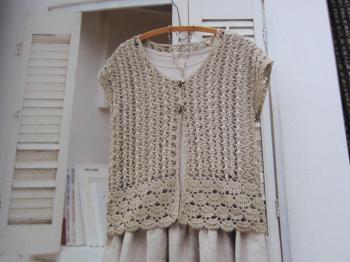 春色カーデ編みはじめ本2