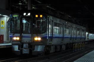 2011年8月18日 JR西日本北陸本線 金沢 521系M8編成