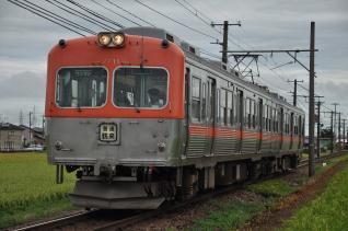 2011年8月19日 北陸鉄道石川線 道法寺~井口 7700系7711-7701