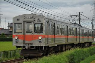 2011年8月19日 北陸鉄道石川線 井口~小柳 7000系7111-7101