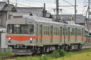 2011年8月19日 北陸鉄道石川線 井口~小柳 7000系7211-7201