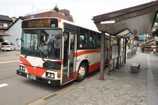 2011年8月19日 兼六園下バス停