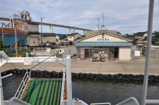 2011年8月19日 富山県営渡船