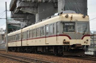 2011年8月20日 富山地方鉄道 電鉄富山~稲荷町 モハ14720形・クハ170形