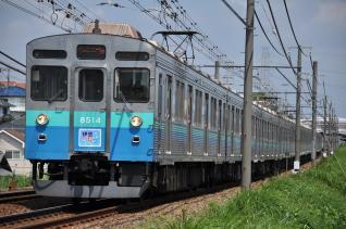 2011年8月28日 東急田園都市線 8500系8614F