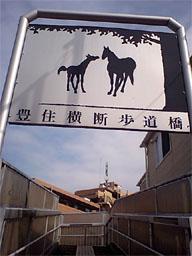 豊住横断歩道橋