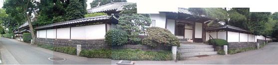 妙蓮寺のパノラマ写真
