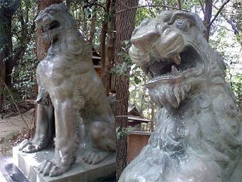 諏訪神社狛犬その2