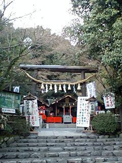 野宮神社正面