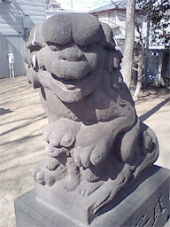 馬橋妙見神社狛犬