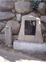 松蔭宿泊のお寺前