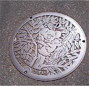松戸市のコアラマンホール