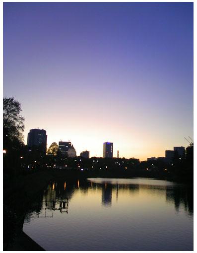 桜田門から議事堂方面を望む