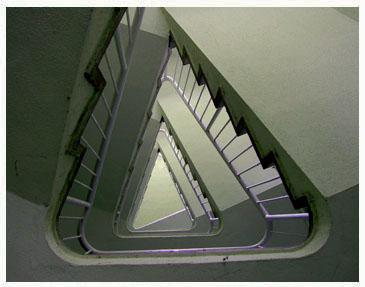 星型住宅階段