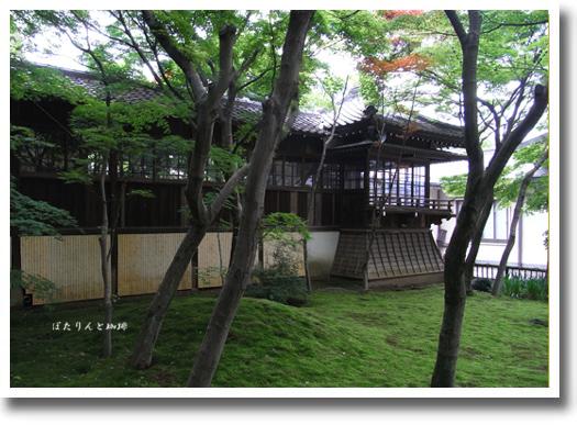 本土寺回廊