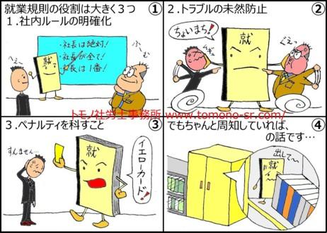 就業規則① 就業規則の効力 トモノ社労士事務所 www.tomono-sr.com/