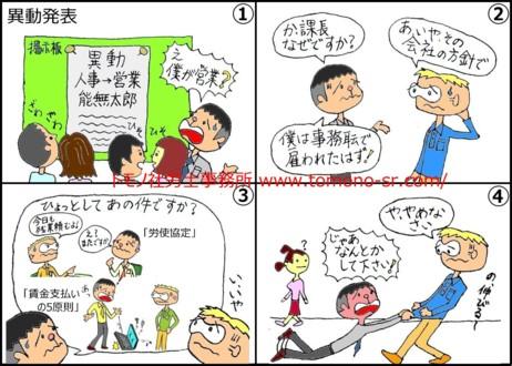 配置転換 トモノ社労士事務所 www.tomono-sr.com/