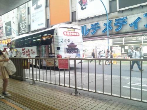 新宿駅のバス乗り場