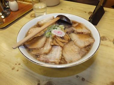 7大醤油チャーシューメン1124