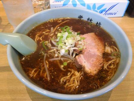 黒味噌生姜ラーメン