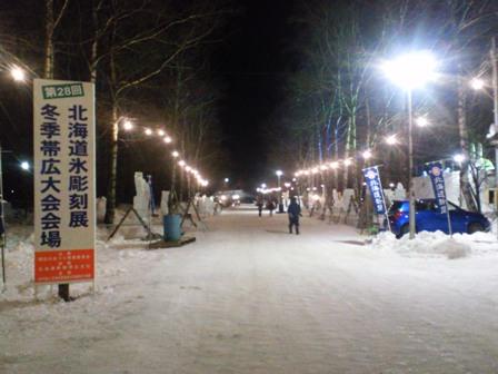 北海道氷彫刻展