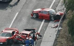 スーパーカー多重事故